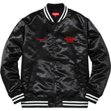 Supreme Rap A Lot Records Satin Club Jacket Black