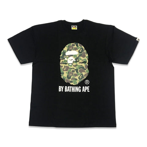 Bape Camo Big Ape Head Tee Black