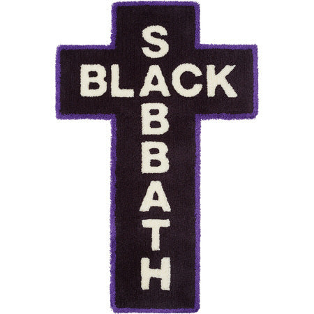 Supreme Black Sabbath Rug