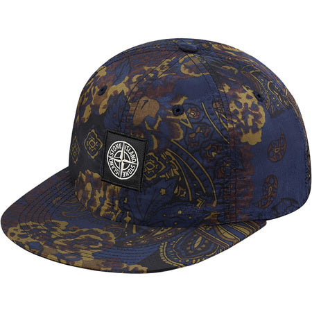 Supreme / Stone Island Nylon Metal 5C 6-Panel Navy