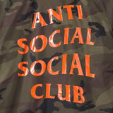 Anti Social Social Club Camo Coach Jacket