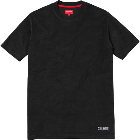 Supreme Terry Tee Black