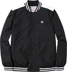 Supreme Champion Warm Up Jacket Black