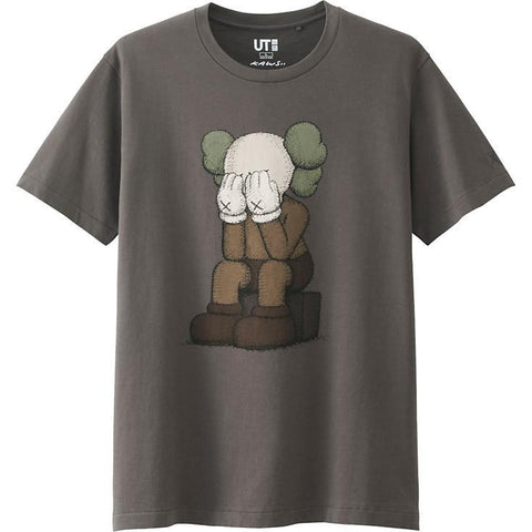 KAWS Companion Tee Grey