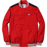 Supreme Champion Warm Up Jacket Red