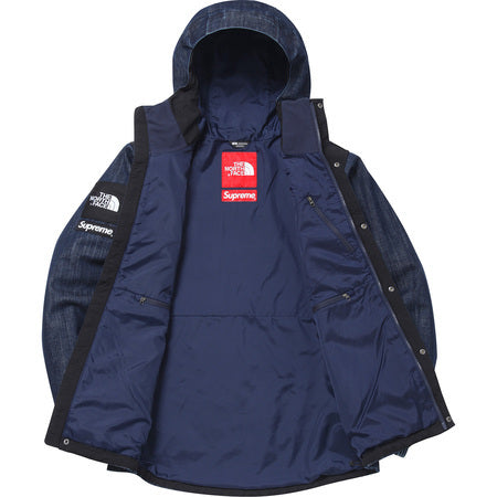Supreme / North Face Denim Dot Shot Jacket