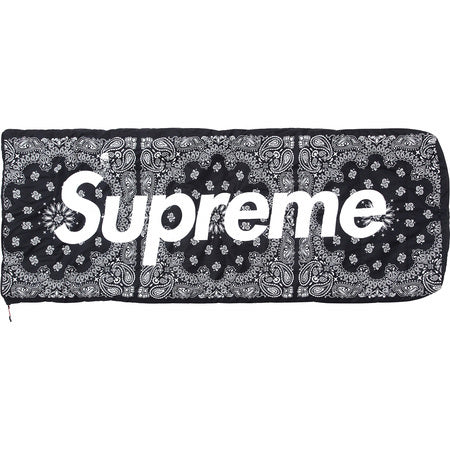 Supreme / The North Face Bandana Dolomite 3S-20 Sleeping Bag Black