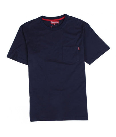 Supreme Pocket Tee Navy