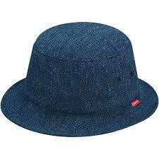 Supreme Loro Piana Terry Crusher Hat Navy S/M