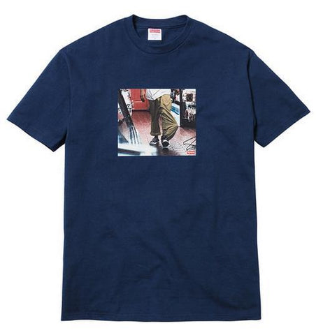Supreme Kids 40 Tee Navy