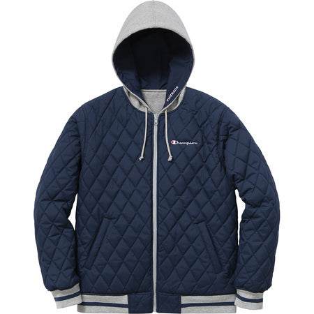 Supreme Champion Reversible Hooded Jacket Navy