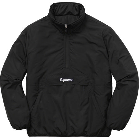 Supreme Reversible Pullover Puffer Black