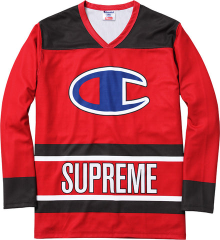 Supreme Champion Hockey Top Red