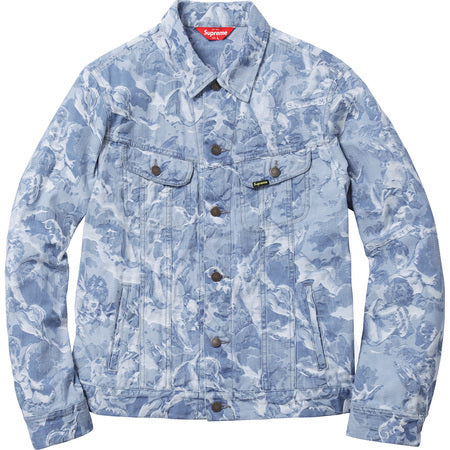Supreme Cherub Trucker Jacket Light Blue