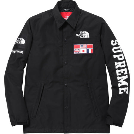 The Northface / Supreme Expedition Coaches Jacket Black