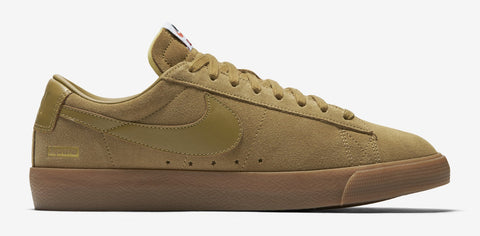 Supreme Nike SB Blazer Low GT Tan Size 9