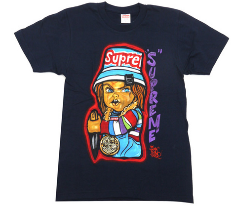 Supreme Forty Deuce Tee Navy