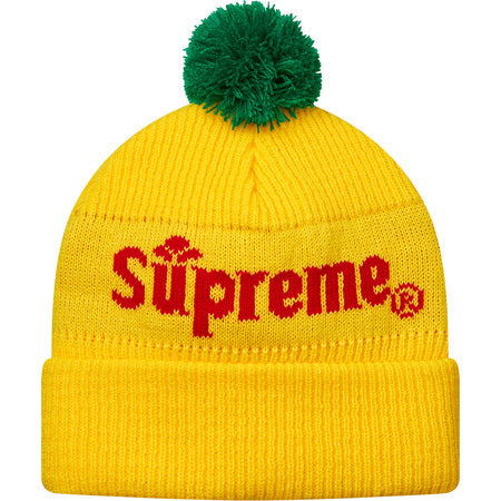 Supreme Citrus Beanie Yellow