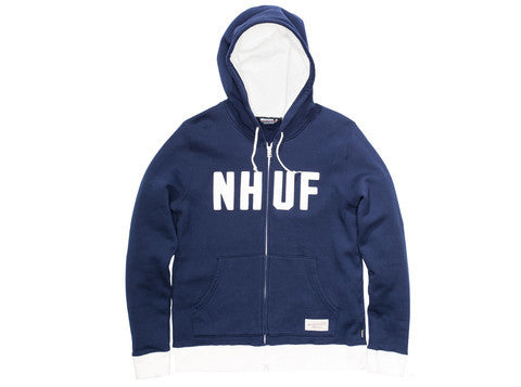 UNDEFEATED X NEIGHBORHOOD NHUF FULL ZIP HOODY BLUE