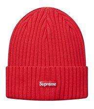bbb9ca08 ... greece supreme overdyed ribbed beanie red 1448f 8a8e3