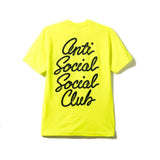 Options Neon Yellow Tee
