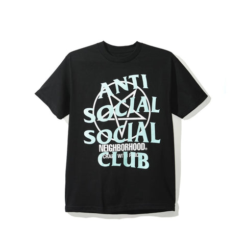 Anti Social Social Club x Neighborhood Black Filth Fury Tee