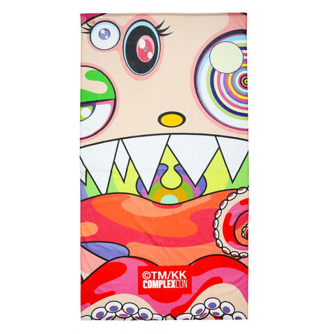 TAKASHI MURAKAMI HUNGRY TOWEL