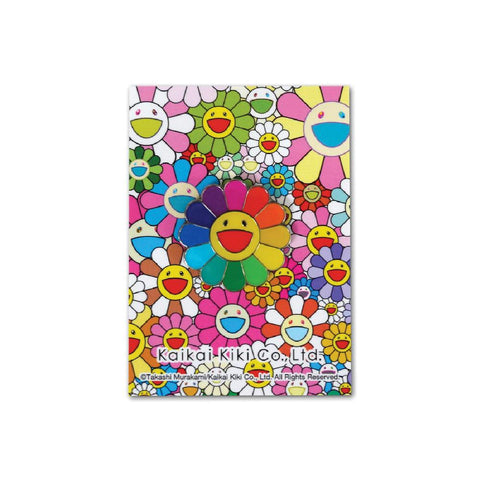 Takashi Murakami Flower Pin Rainbow