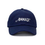 AWAKE NY Metallic Logo Hat Navy