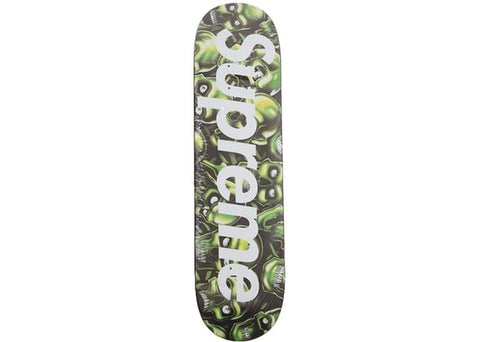 Supreme Skull Pile Skateboard Deck Green