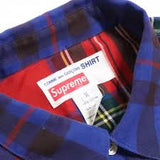 Supreme Comme de Garcons Shirt Button Down Red and Blue