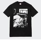 Supreme Pettibon Blood And Sperm Tee Black