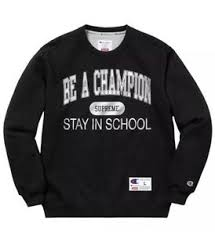 Supreme Champion Be A Champion Stay In School Black