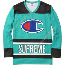 Supreme Champion Hockey Top Green