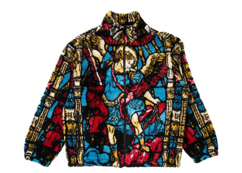 Supreme Saint Michael Fleece Jacket