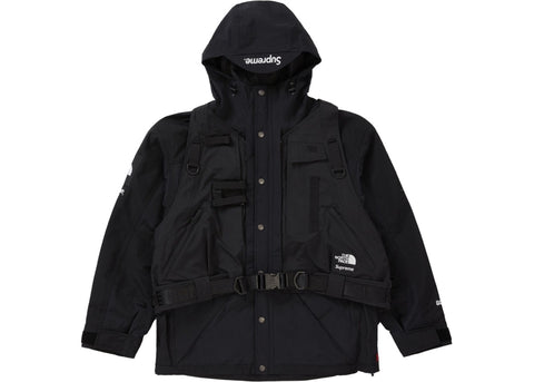Supreme The Northface RTG Jacket + Vest Black