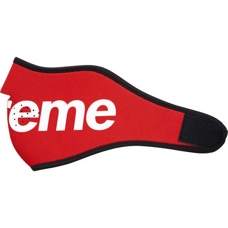 Supreme Neoprene Face Mask Red