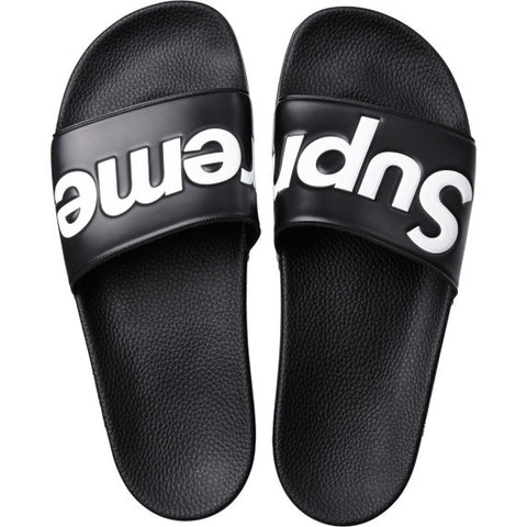 Supreme Sandals Black Size 8