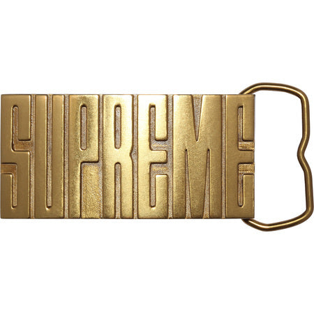Supreme  Brass Belt Buckle