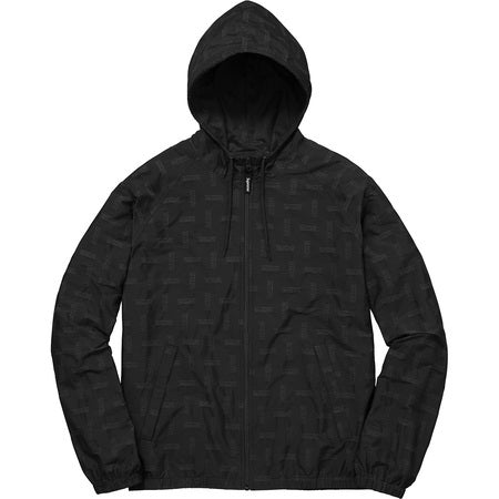 Supreme Jacquard Windbreaker Black