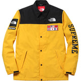 The Northface / Supreme Expedition Coaches Jacket Yellow