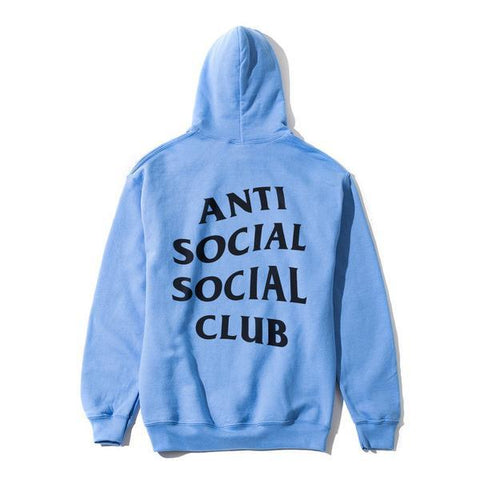 Anti Social Social Club Images of you Baby Blue Hoodie