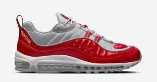 Supreme X Nike AirMax 98 Red size 10.5
