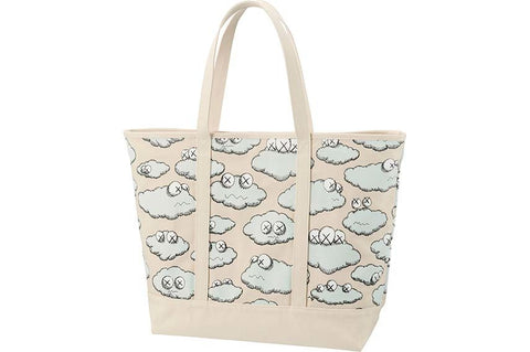 Kaws Tote Bag Clouds Large