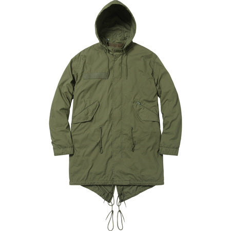 Supreme Fishtail Parka Olive