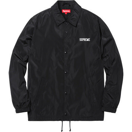 Supreme Overfiend Touch Coaches Jacket Black