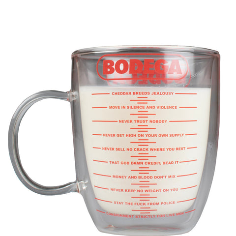 Ten Crack Commandments Mug Bodega