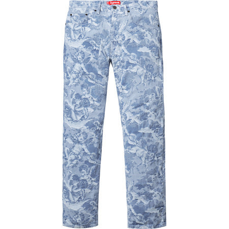 Supreme Cherub 5-Pocket Pant Light Blue Size 30