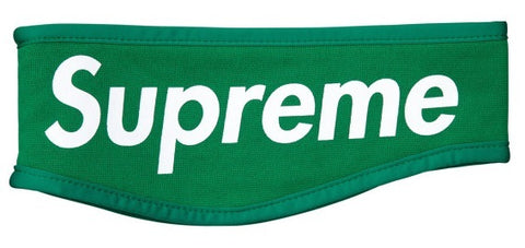 Supreme Fleece Headband Green