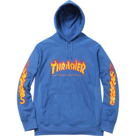 Supreme / Thrasher Hooded Sweatshirt Pale Royal